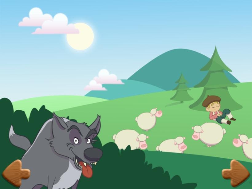 Pedro y el lobo. Cuento interactivo 1