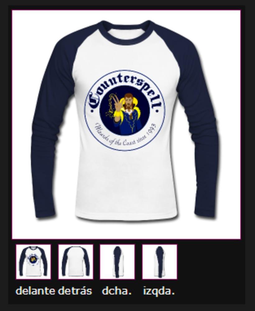 Camiseta Counterspell -1