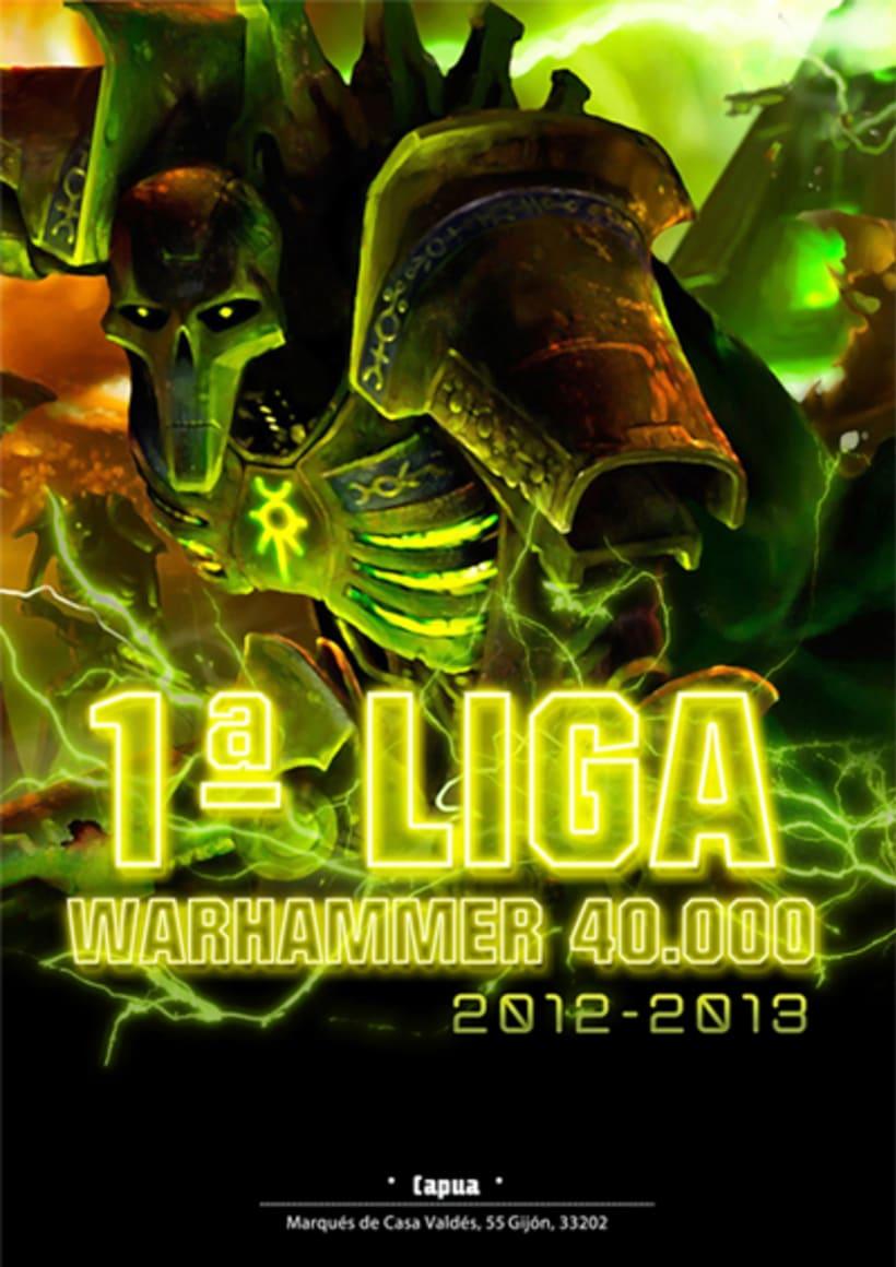 Cartel Torneo Warhammer 40.000 -1