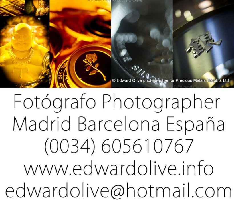 Estudio fotografico en Madrid Edward Olive 0