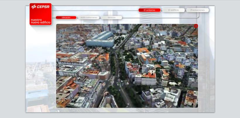 Cepsa Nueva sede - Web 3D 4