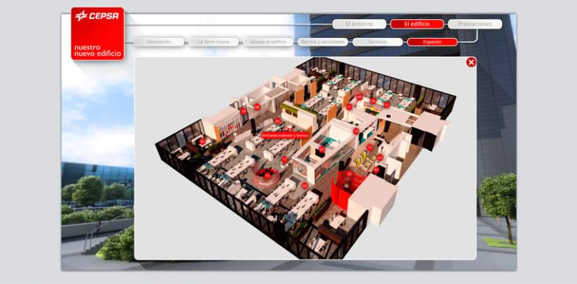 Cepsa Nueva sede - Web 3D 6