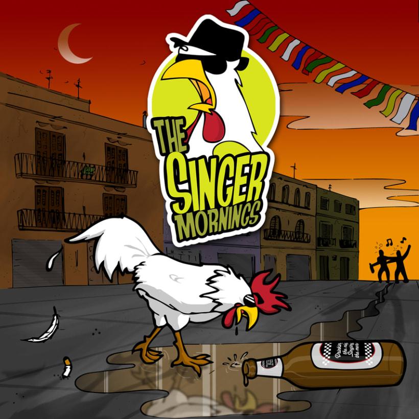 Portada maqueta The Singermornings 1