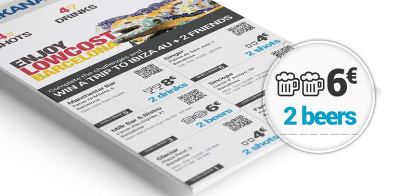 UI Design de Flyer estilo Gincana 1