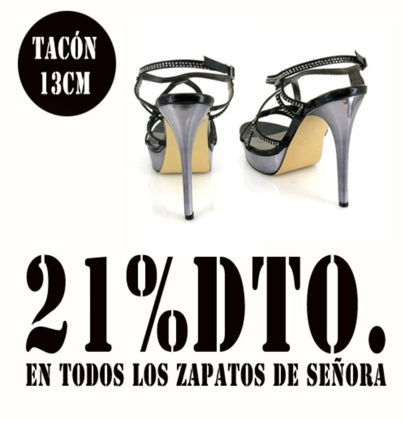 21%dto.En todos los zapatos de Señora. 1