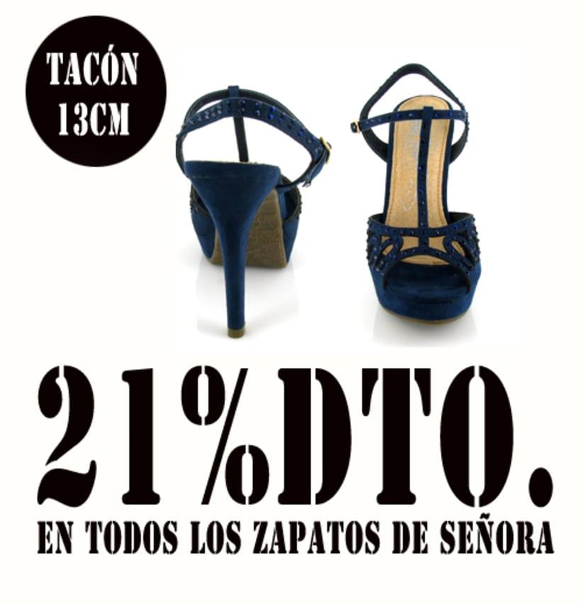21%dto.En todos los zapatos de Señora. 2