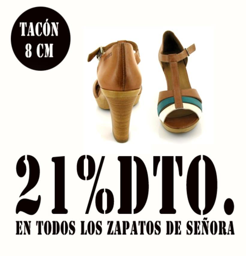 21%dto.En todos los zapatos de Señora. 5