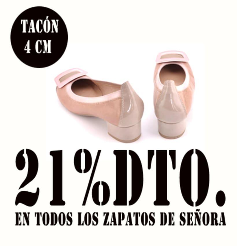 21%dto.En todos los zapatos de Señora. 7