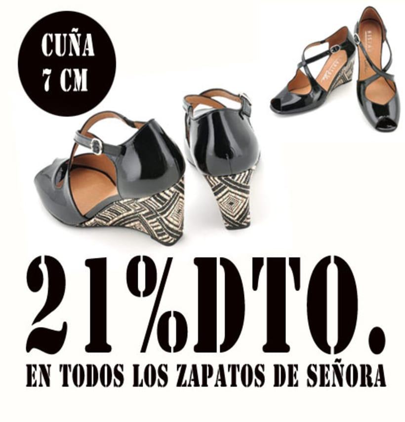 21%dto.En todos los zapatos de Señora. 9