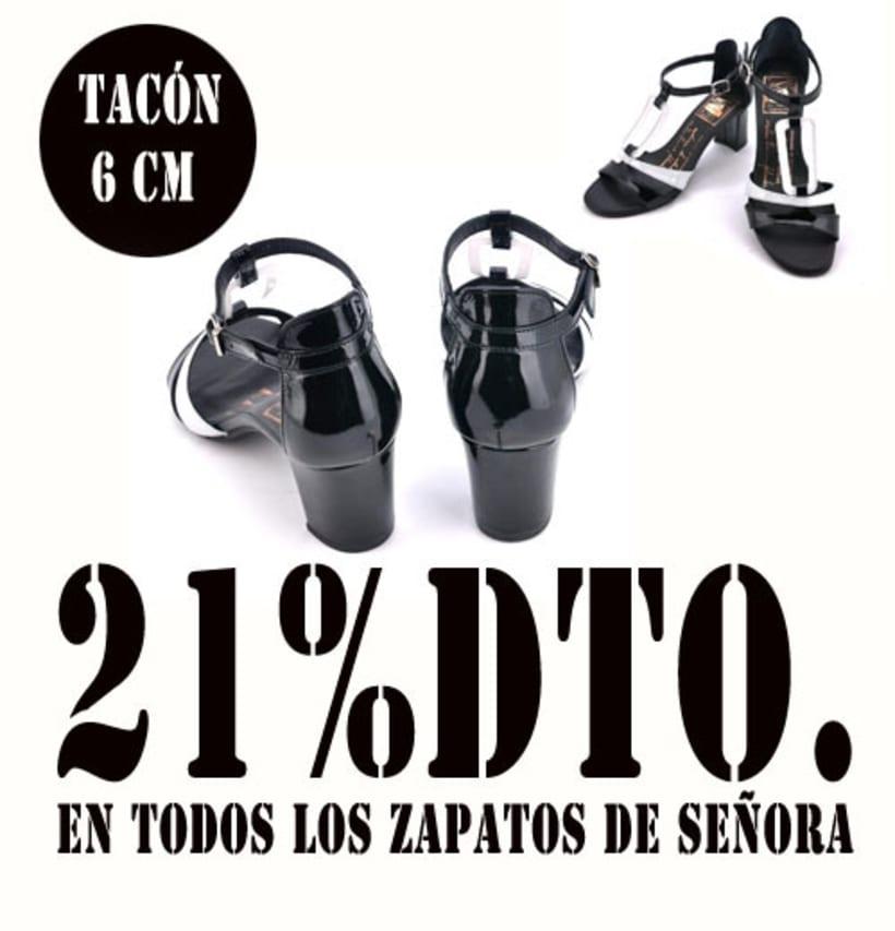 21%dto.En todos los zapatos de Señora. 10