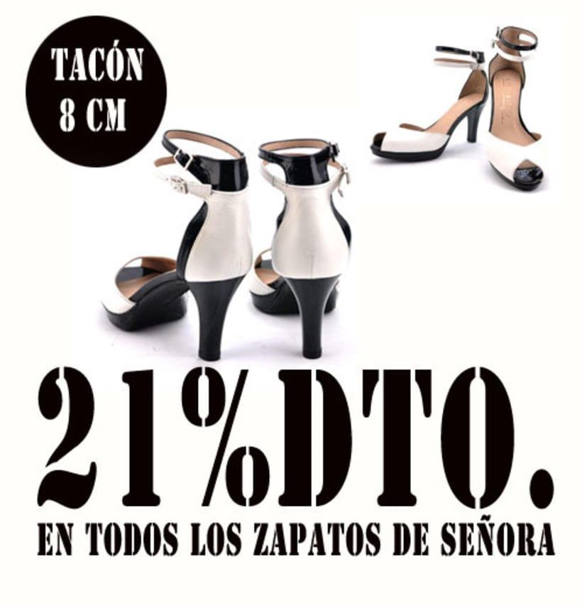21%dto.En todos los zapatos de Señora. 11