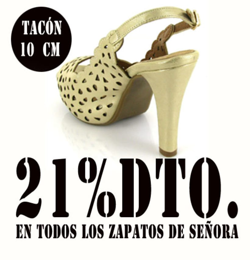21%dto.En todos los zapatos de Señora. 12