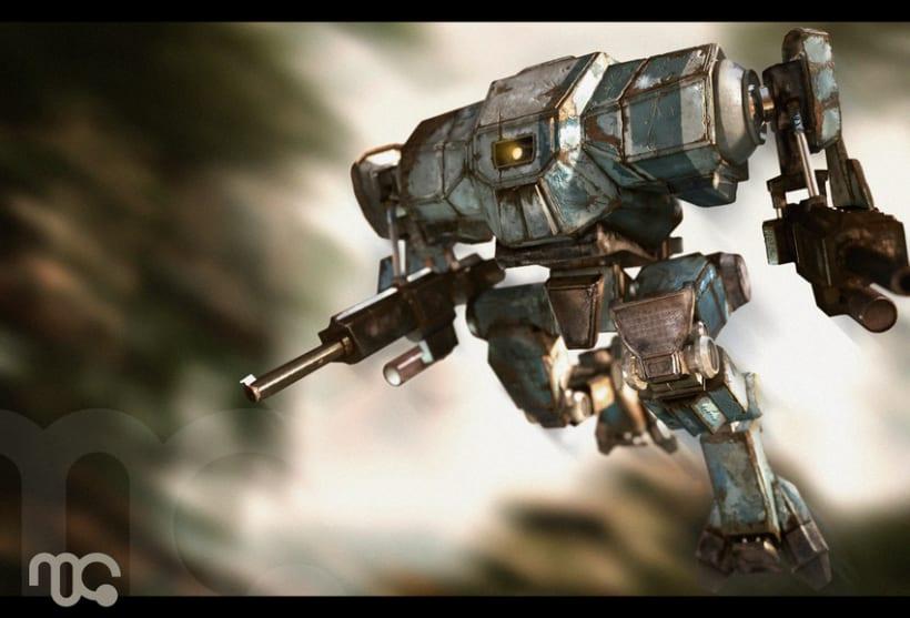 Robot Mech 3d 0