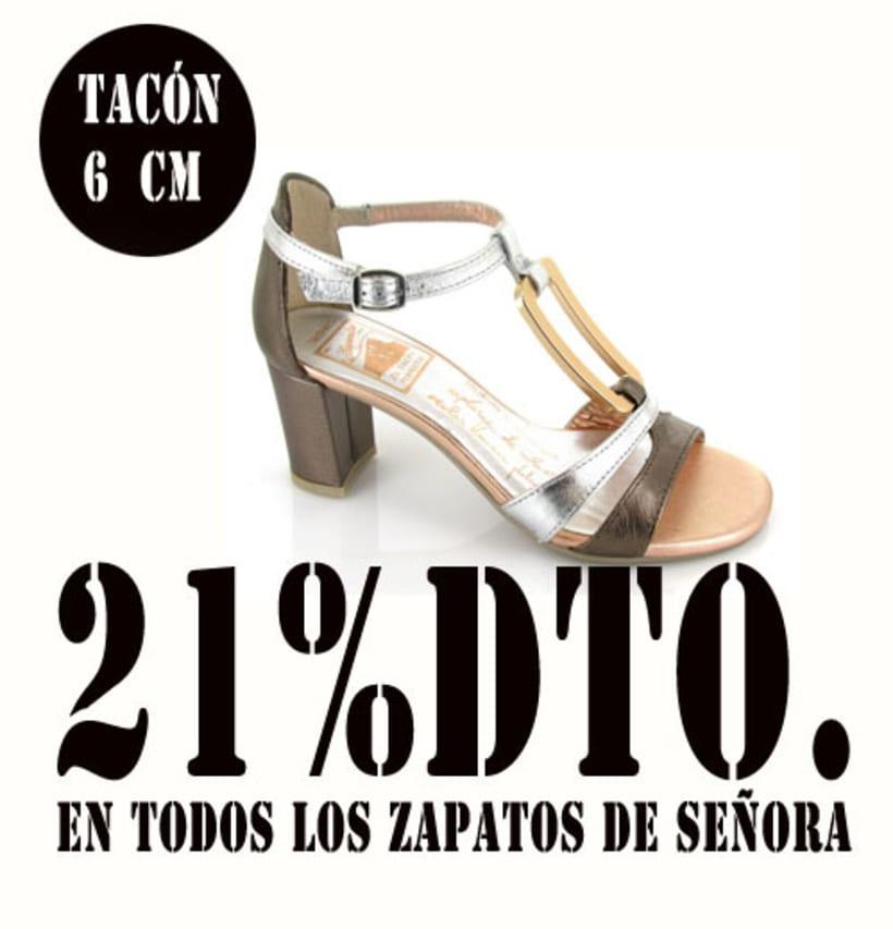21%dto.En todos los zapatos de Señora. 13