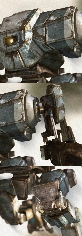 Robot Mech 3d 1