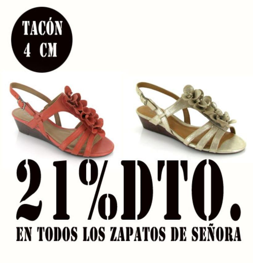 21%dto.En todos los zapatos de Señora. 14