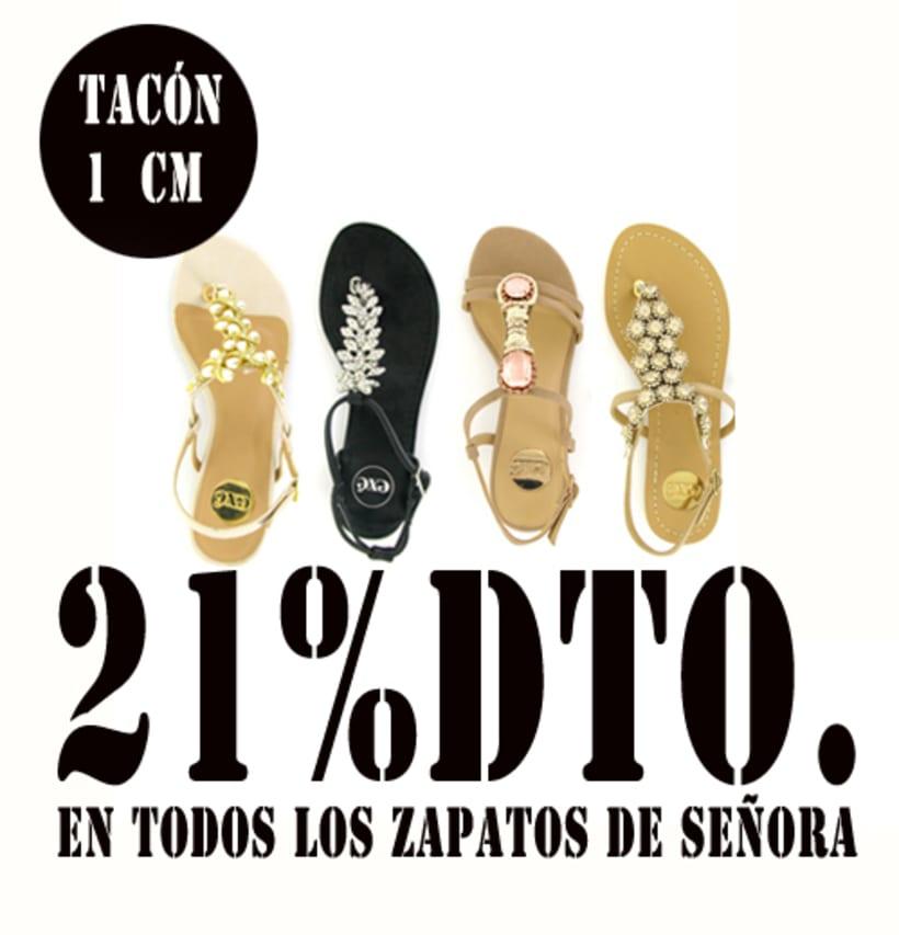 21%dto.En todos los zapatos de Señora. 15