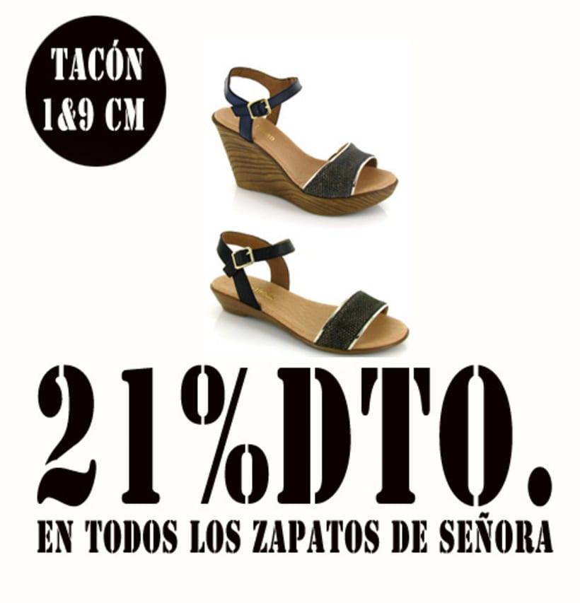 21%dto.En todos los zapatos de Señora. 16