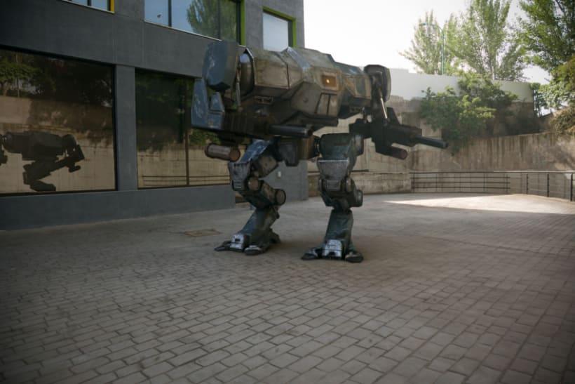 Robot Mech 3d 2