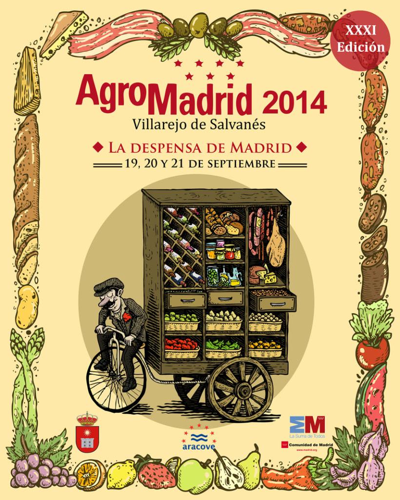 Cartel AgroMadrid 2014 1