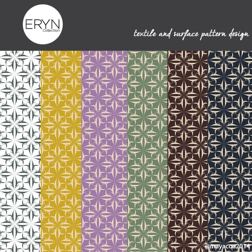 Eryn Collection(Estampado textil y de superficie) 1