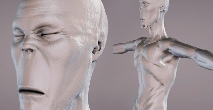 Modelado orgánico 3D 0