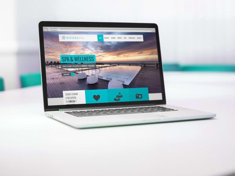 RIVIERA SPA: Diseño y Desarrollo Web -1