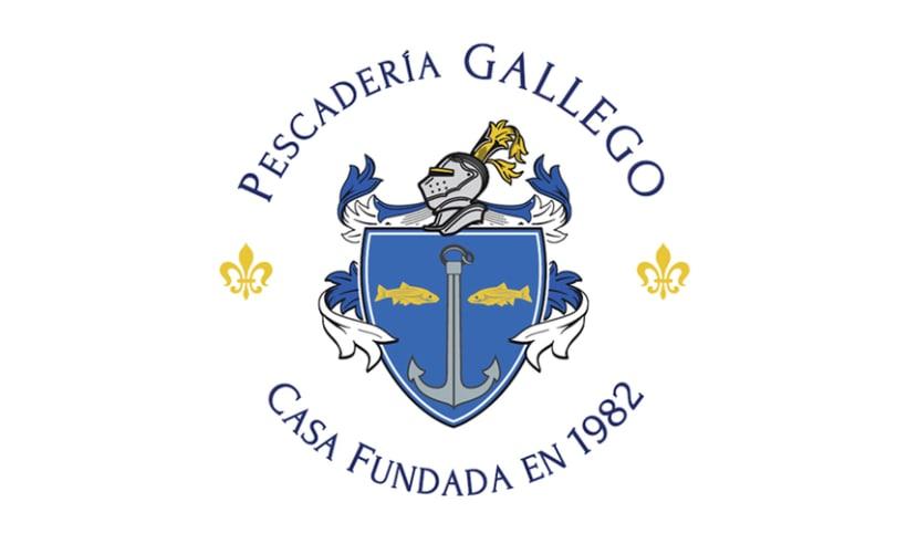 Identidad corporativa Pescadería Gallego 0