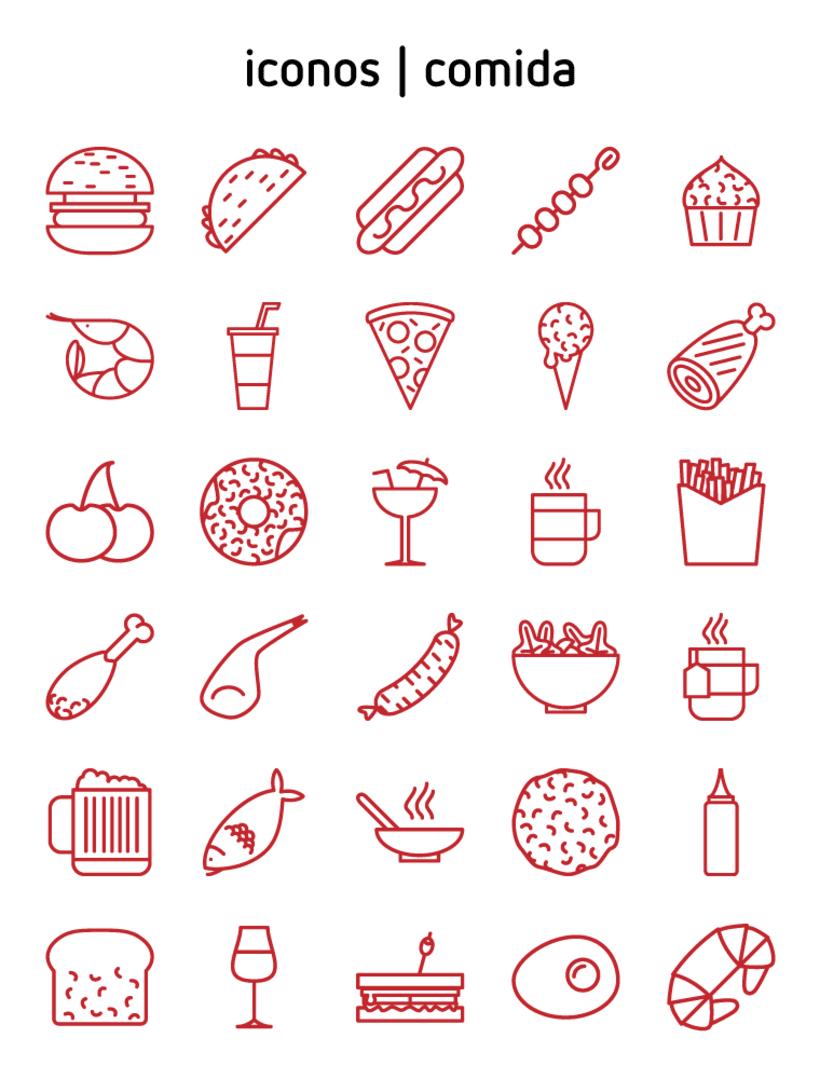 iconos | comida 1