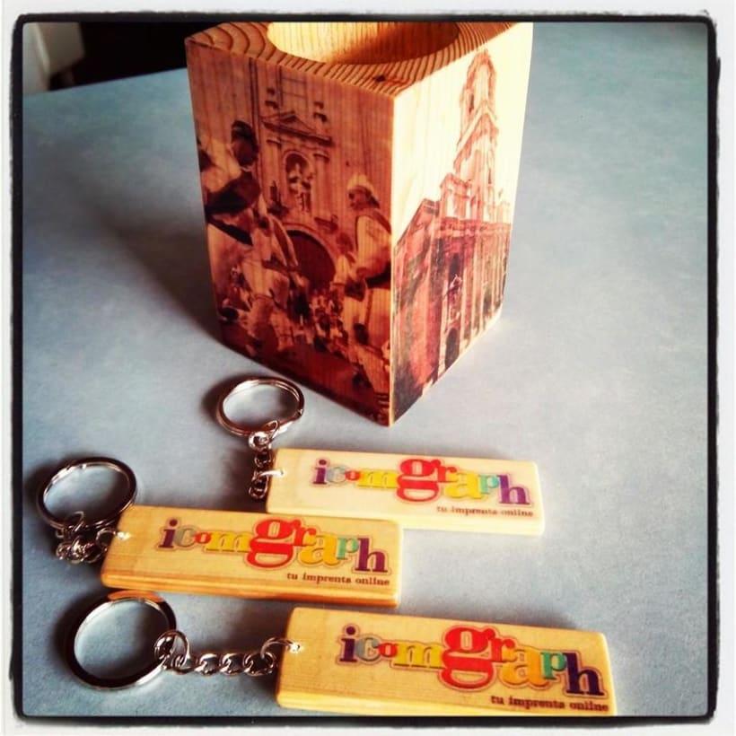 Impresión artesanal en madera -1