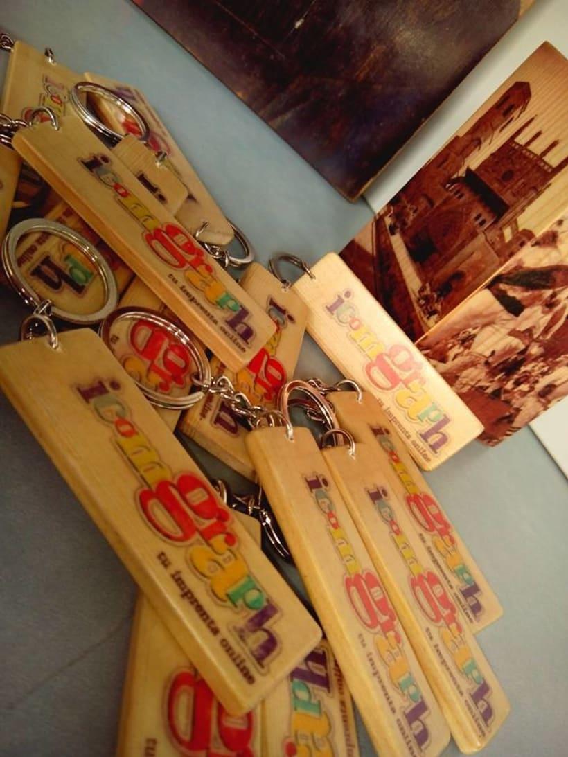 Impresión artesanal en madera 1