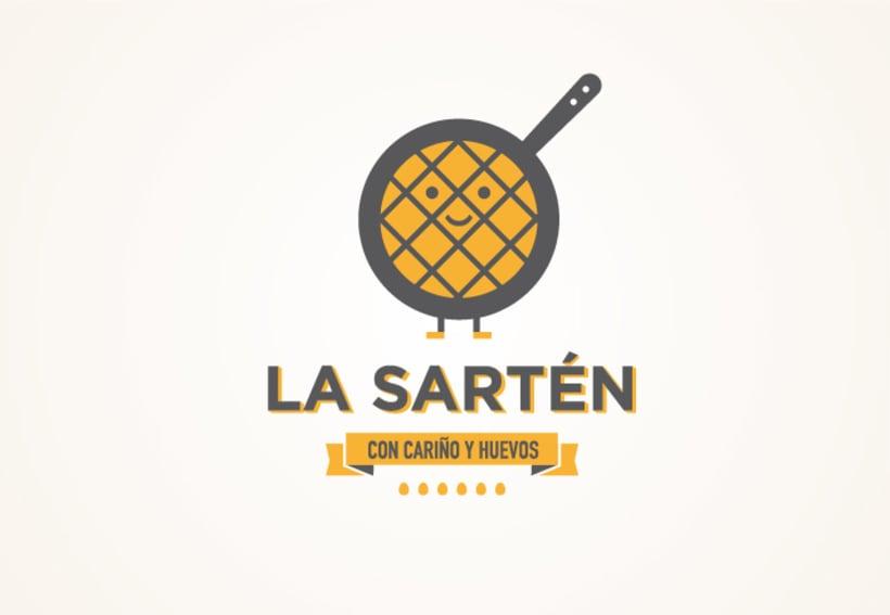 """La Sartén """"Con cariño y huevos"""" 1"""