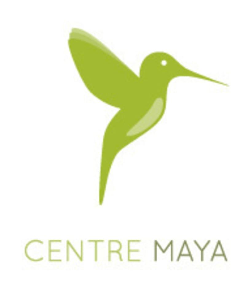 Centre Maya. Creación de logotipo y diseño web 0