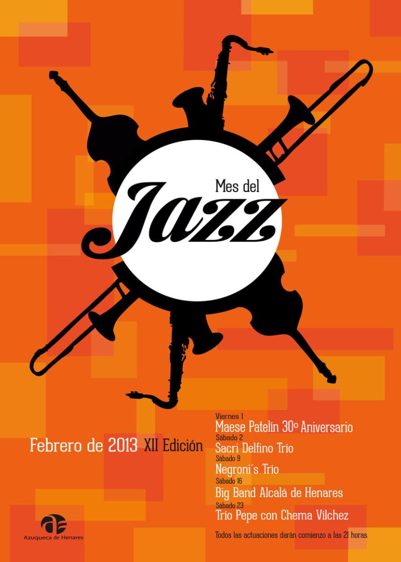 Cartel Mes del Jazz, Azuqueca de Henares 2013 0