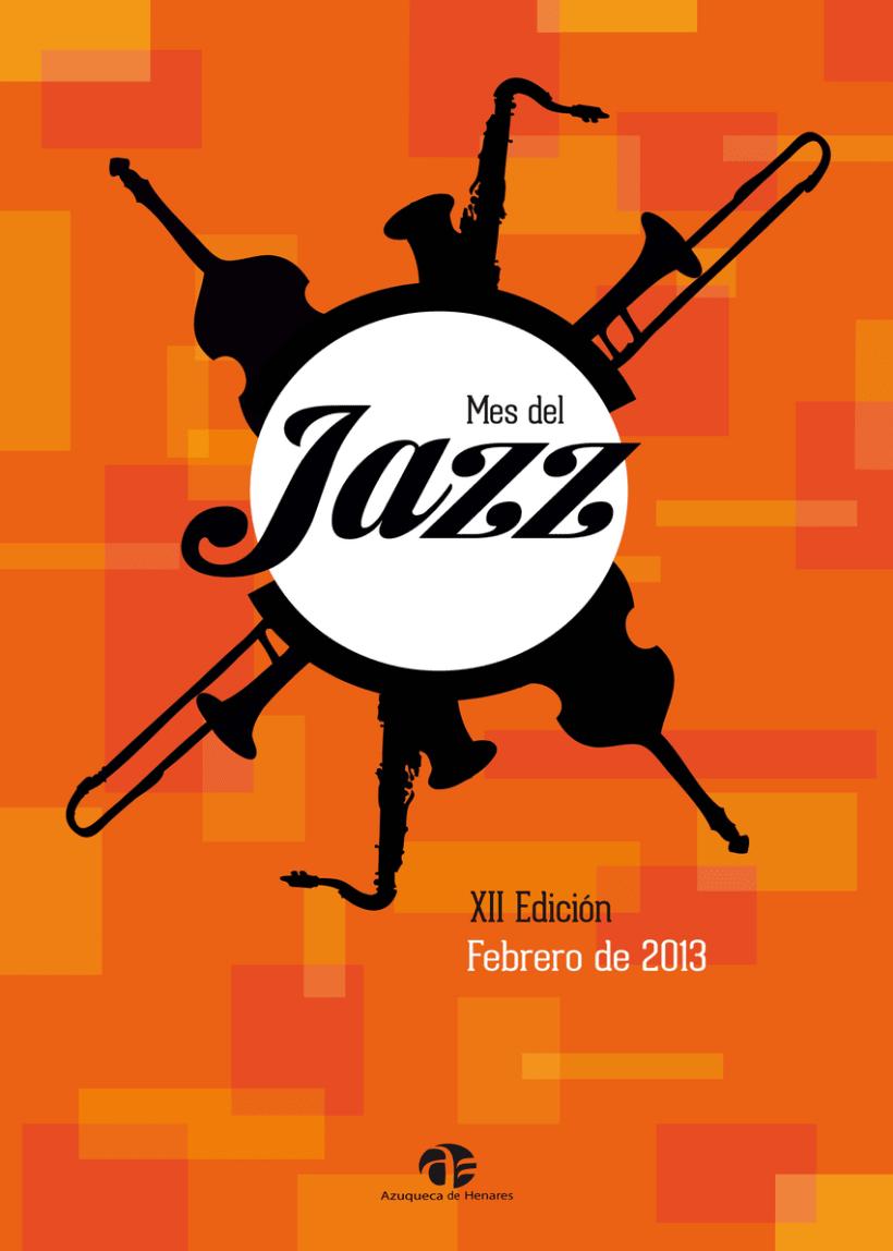 Cartel Mes del Jazz, Azuqueca de Henares 2013 1