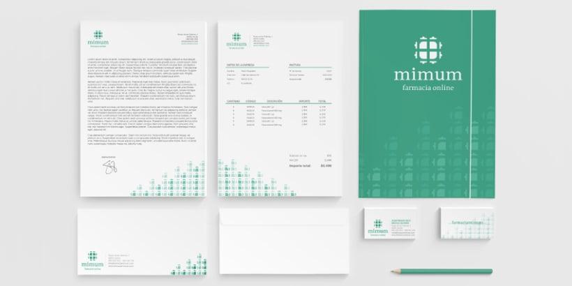 Mimum - Diseño de Imagen Corporativa 1
