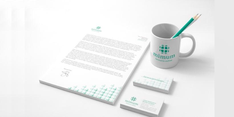 Mimum - Diseño de Imagen Corporativa 3