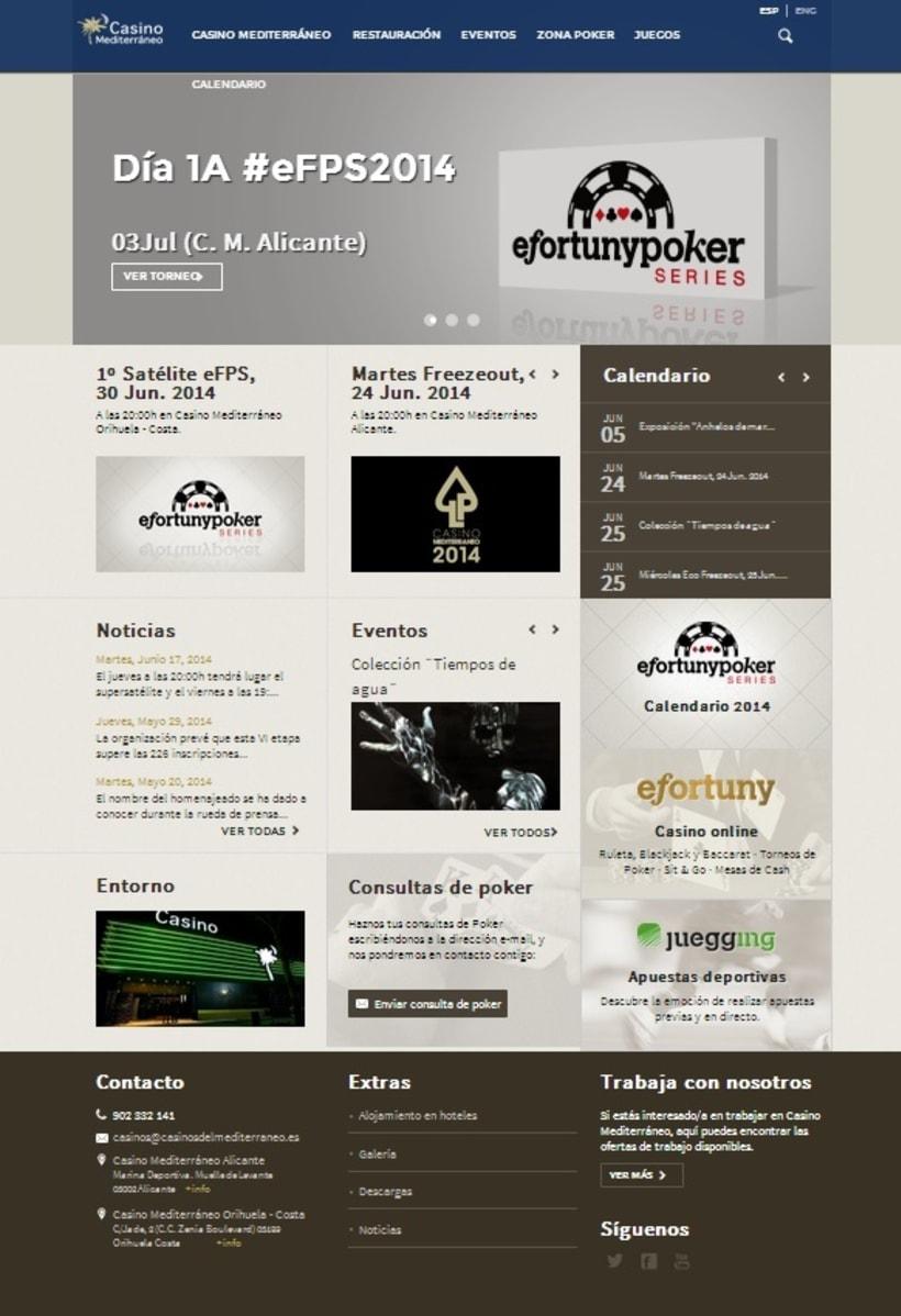 Nueva web de Casino Mediterráneo 1