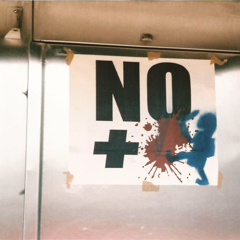 Serie fotográfica: no + sangre 0