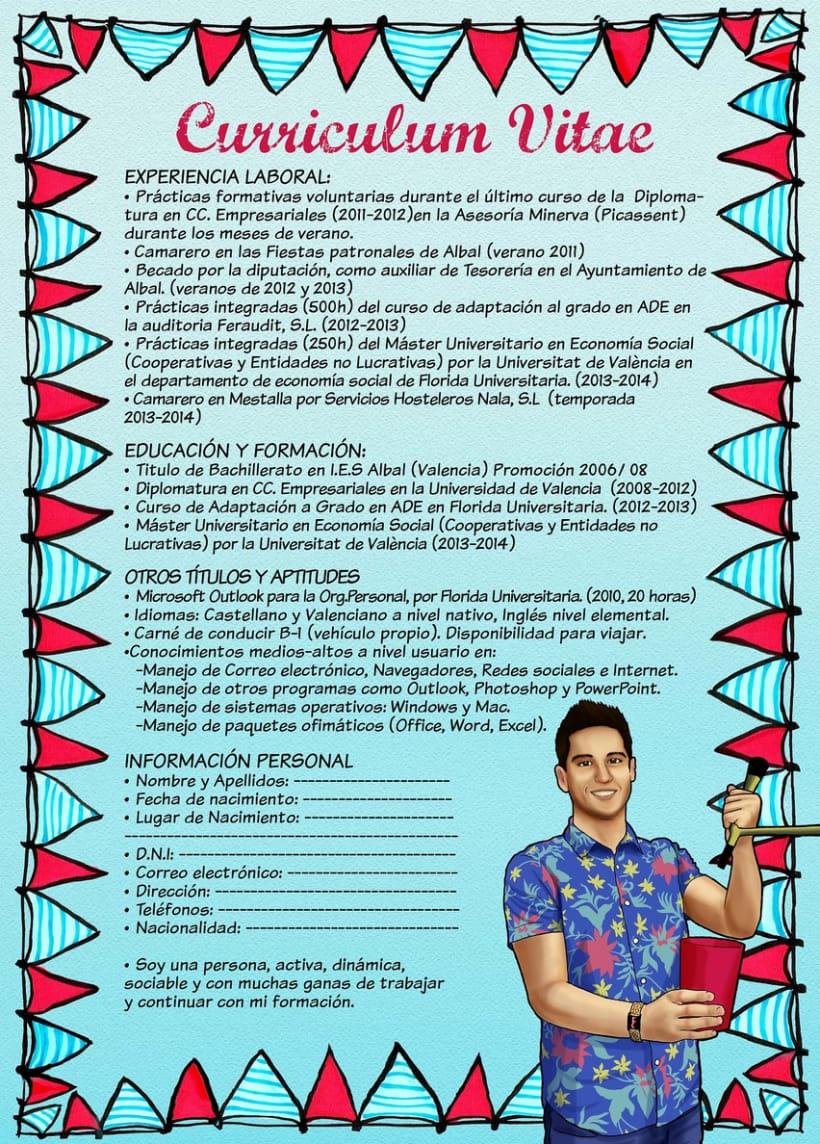 Curriculums personalizados. 2