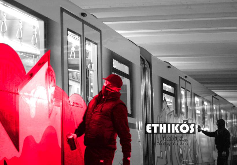 Línea gráfica ETHIKOS 23