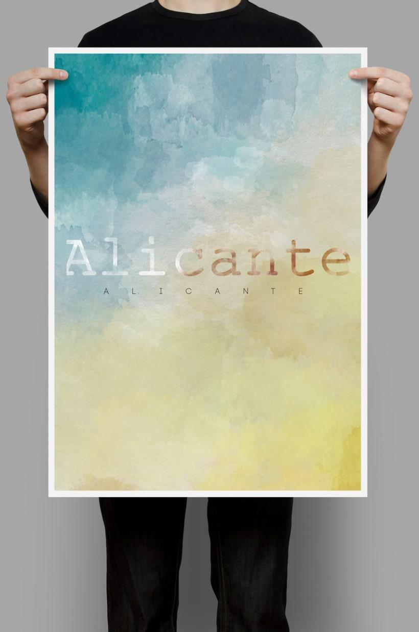 Alicante, tierra y azul. 1