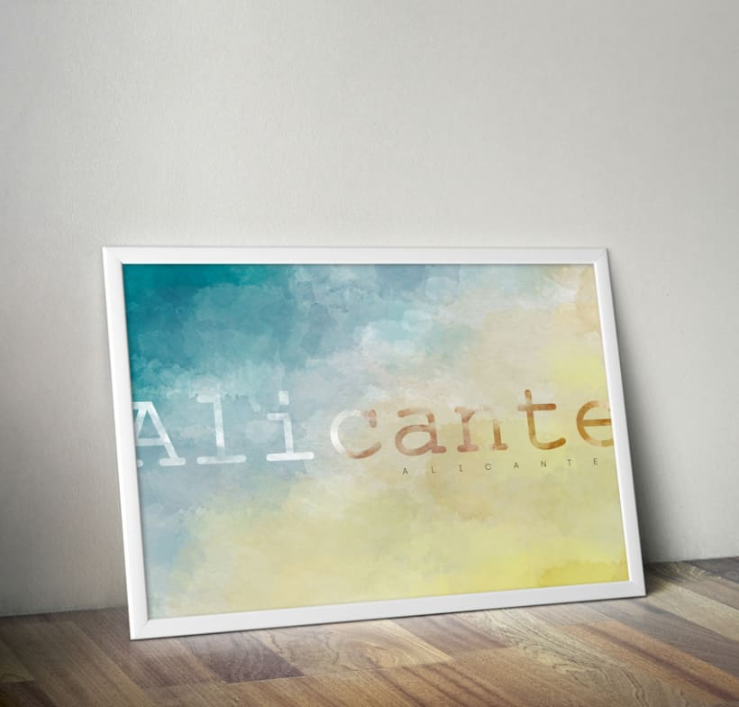 Alicante, tierra y azul. 0