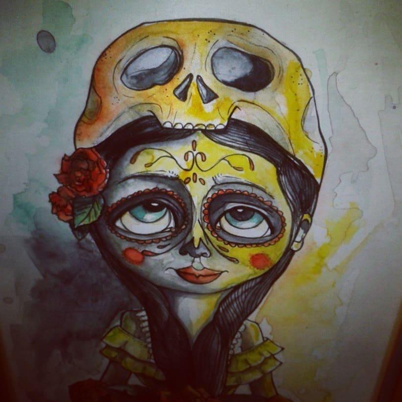 watercolor - acuarela 6