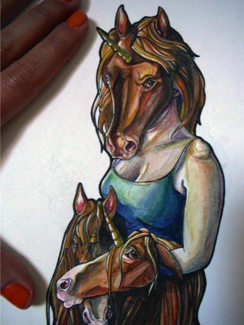 watercolor - acuarela 3