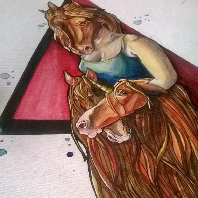 watercolor - acuarela 2
