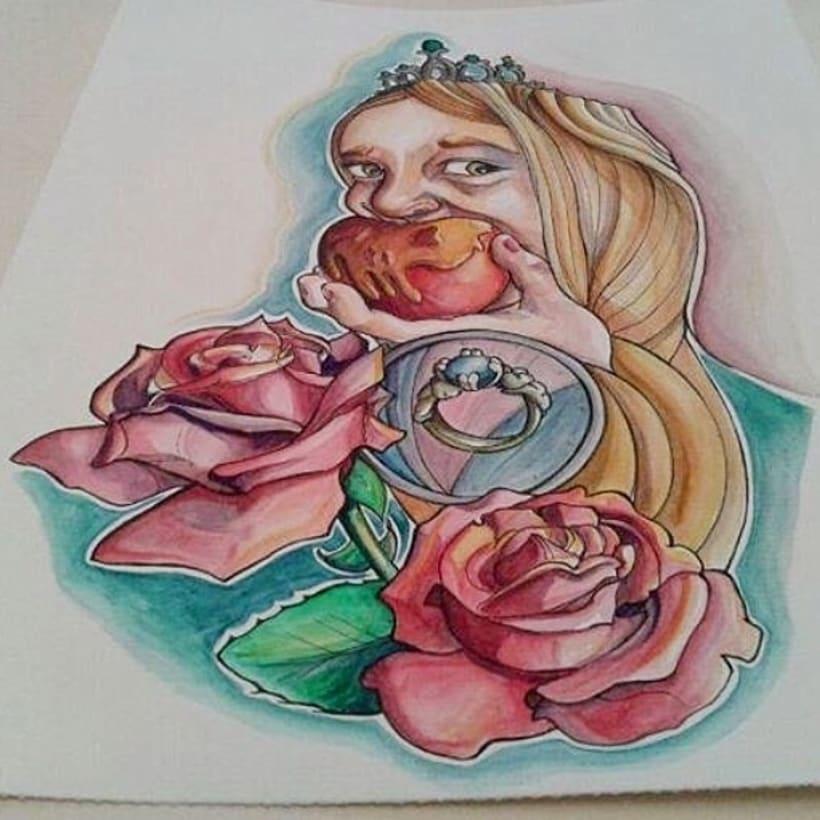 watercolor - acuarela 1