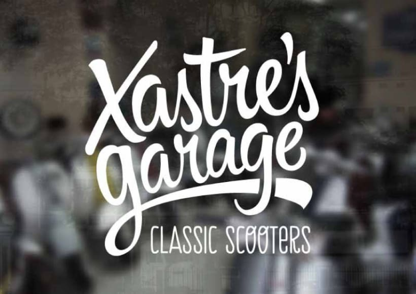Xastre's garage. Classic scooters 1