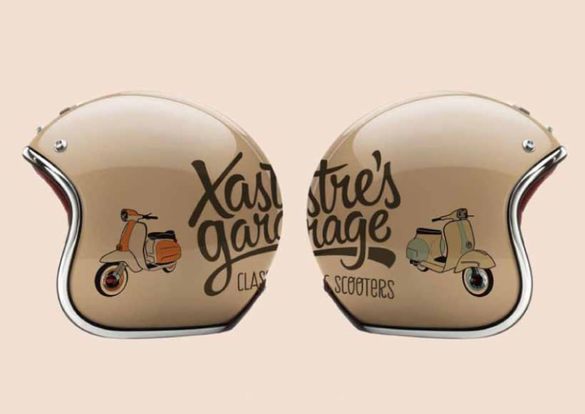 Xastre's garage. Classic scooters 3
