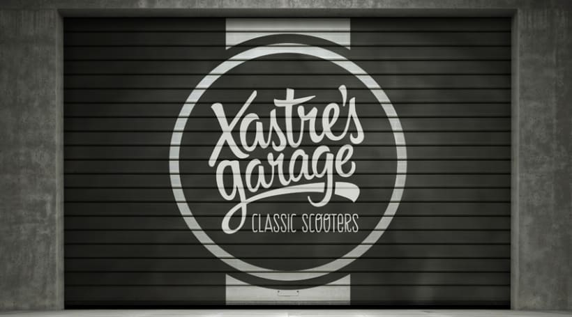Xastre's garage. Classic scooters 6